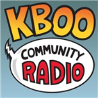 Logo of radio station KBOO Community Radio