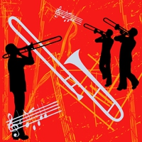 Logo de la radio JAZZRADIO.com - Swing & Big Band