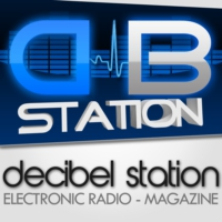 Logo of radio station Decibel Station #CLUB