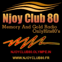Logo of radio station NjoyClub80