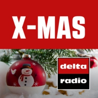 Logo of radio station delta radio X-MAS