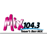 Logo de la radio KMXY Mix 104.3