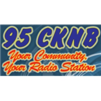 Logo of radio station 95 CKNB