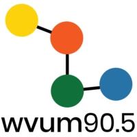 Logo of radio station WVUM 90.5 FM