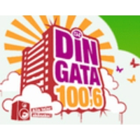 Logo of radio station Din Gata 100,6