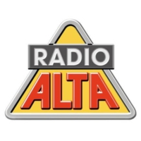 Logo of radio station Alta 100.7 FM