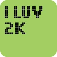 Logo of radio station I LUV 2K