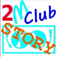 Logo of radio station 2M Club Story