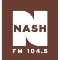 Logo of radio station WKAK 104.5 Nash FM
