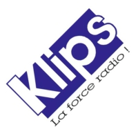 Logo of radio station KLIPS FM