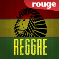 Logo of radio station Rouge FM Reggae