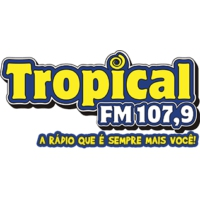 Logo of radio station Tropical FM 107.9