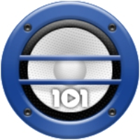Logo of radio station 101.ru - Robbie Williams