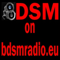 Logo of radio station BDSM on BDSMradio.EU 1