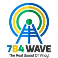 Logo of radio station 784WAVE