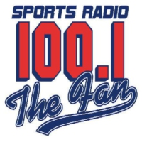 Logo of radio station WWFN 100.1 The FAN