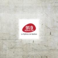Logo of radio station Rythme FM 91.9