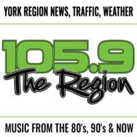 Logo de la radio 105.9 The Region