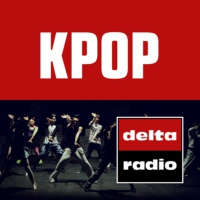 Logo of radio station delta radio K-POP