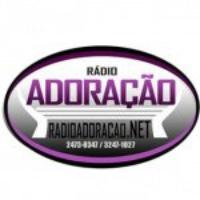Logo of radio station Rádio Adoração FM