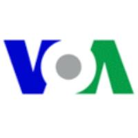 Logo of radio station VOA - La Voix de l'Amérique