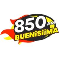 Logo of radio station XEZF Buenísima Mexicali 850 AM