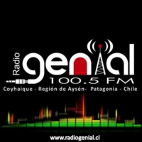 Logo of radio station Radio Genial 100.5 FM