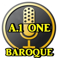 Logo of radio station A.1.ONE.BAROQUE