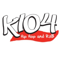 Logo of radio station K104-FM