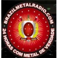 Logo of radio station Brazil Metal Radio