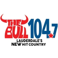 Logo of radio station WMIA-HD2 The Bull 104.7