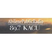Logo of radio station KACU NPR 89.7 FM