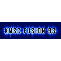 Logo of radio station KMSC Fusion 93
