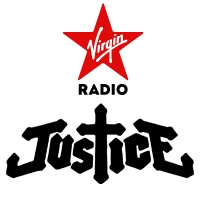 Logo of radio station Virgin Radio Justice
