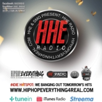 Logo of radio station HHE Radio