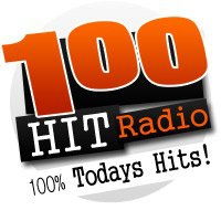 Logo of radio station 100 HIT radio