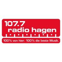 Logo of radio station 107.7 Radio Hagen