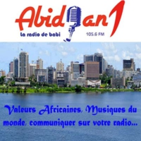 Logo of radio station Abidjan1