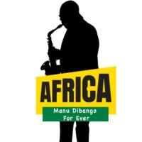 Logo de la radio Africa Radio Manu Dibango Forever