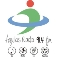 Logo of radio station Águilas Radio 91.4 fm