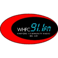 Logo of radio station WHFC Harford Community College