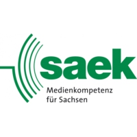 Logo of radio station SAEK