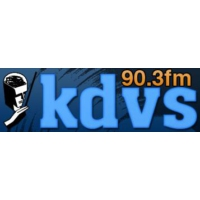 Logo de la radio KDVS Univ. of California 90.3 FM