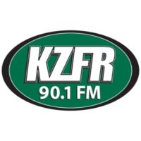 Logo of radio station KZFR 90.1 FM