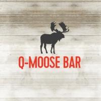 Logo of radio station Q-Moose Bar