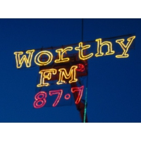 Logo de la radio Worthy FM - Glastonbury
