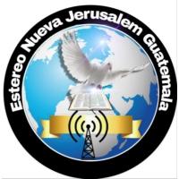 Logo de la radio Estereo Nueva Jerusalem  Guatemala