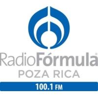 Logo of radio station Radio Fórmula 100.1 FM