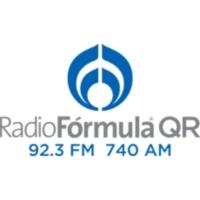 Logo of radio station XHCAQ Radio Fórmula QR