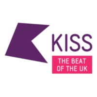 Logo of radio station KISS